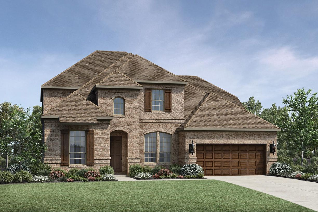 Exterior featured in the Nicholson By Toll Brothers in Houston, TX