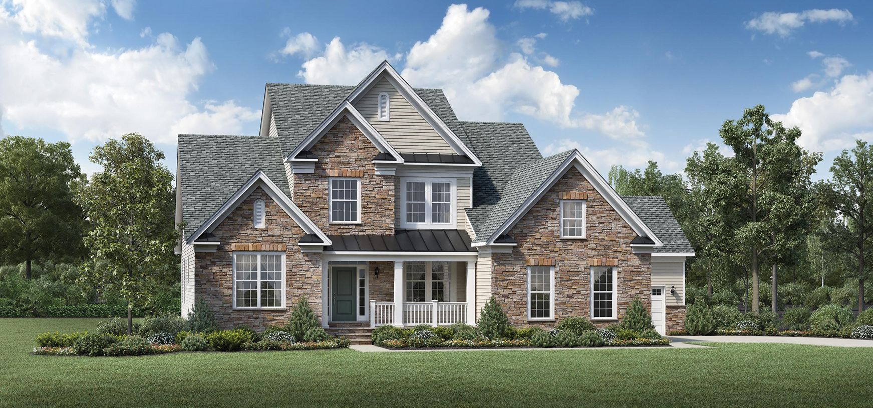 Exterior featured in the Palmerton By Toll Brothers in Bergen County, NJ
