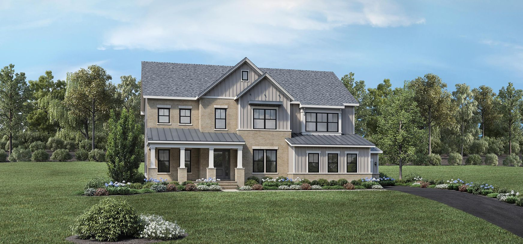 Exterior featured in the Rosslyn By Toll Brothers in Washington, VA