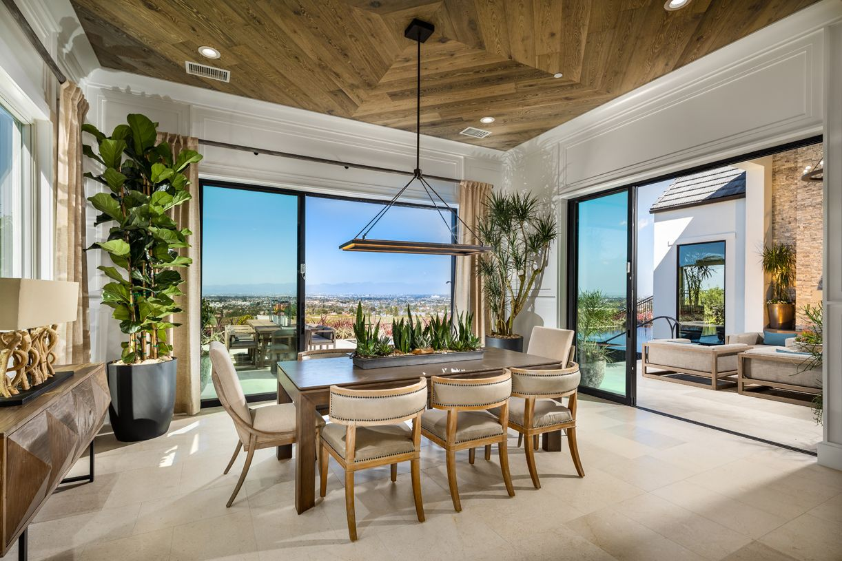 Living Area featured in the Fairway By Toll Brothers in Los Angeles, CA