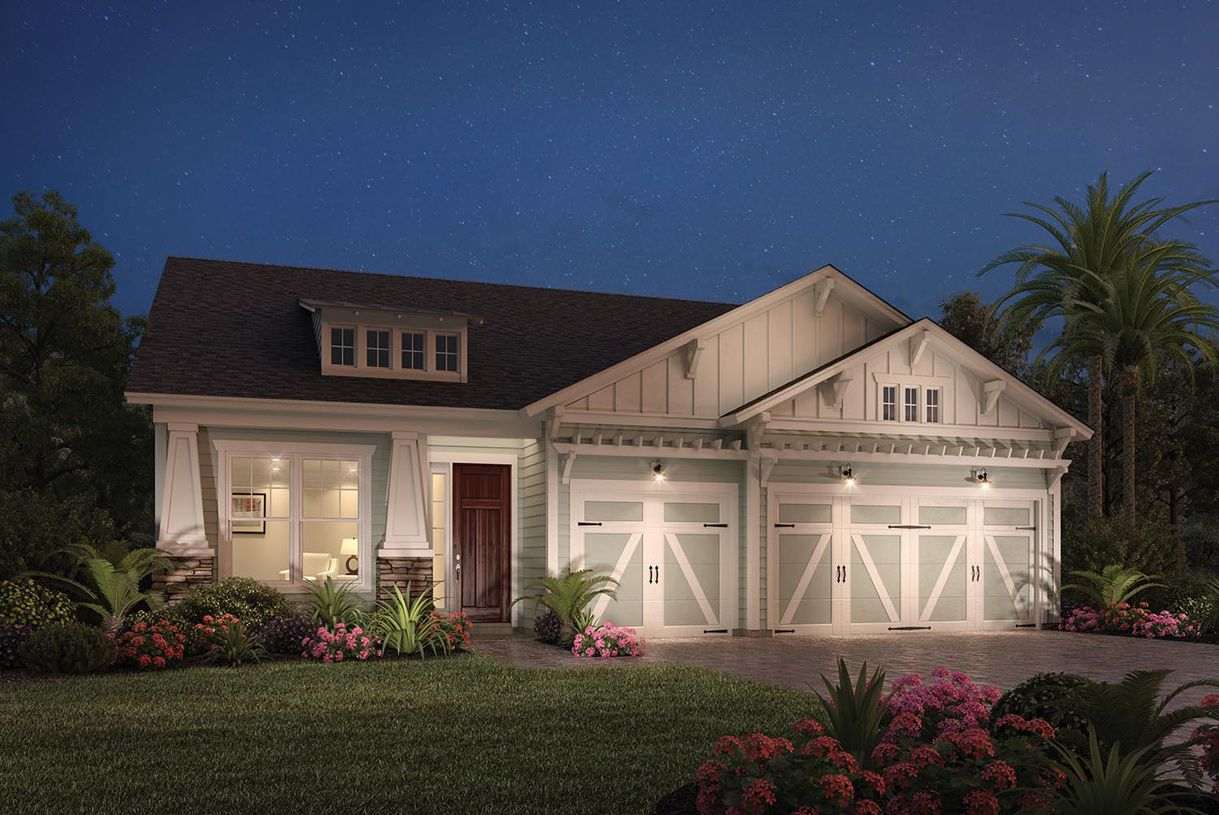 Exterior featured in the Anastasia By Toll Brothers in Jacksonville-St. Augustine, FL