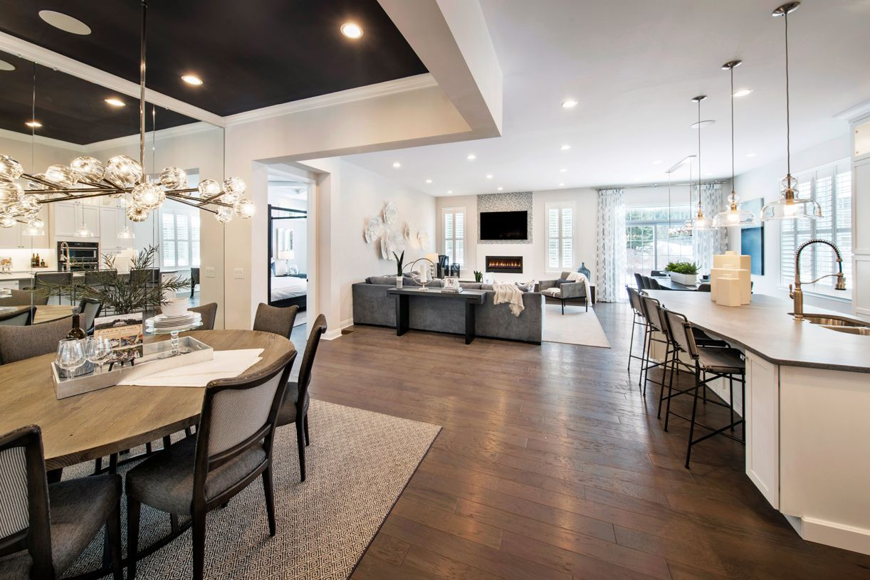 Living Area featured in the Binghamton By Toll Brothers in Danbury, CT