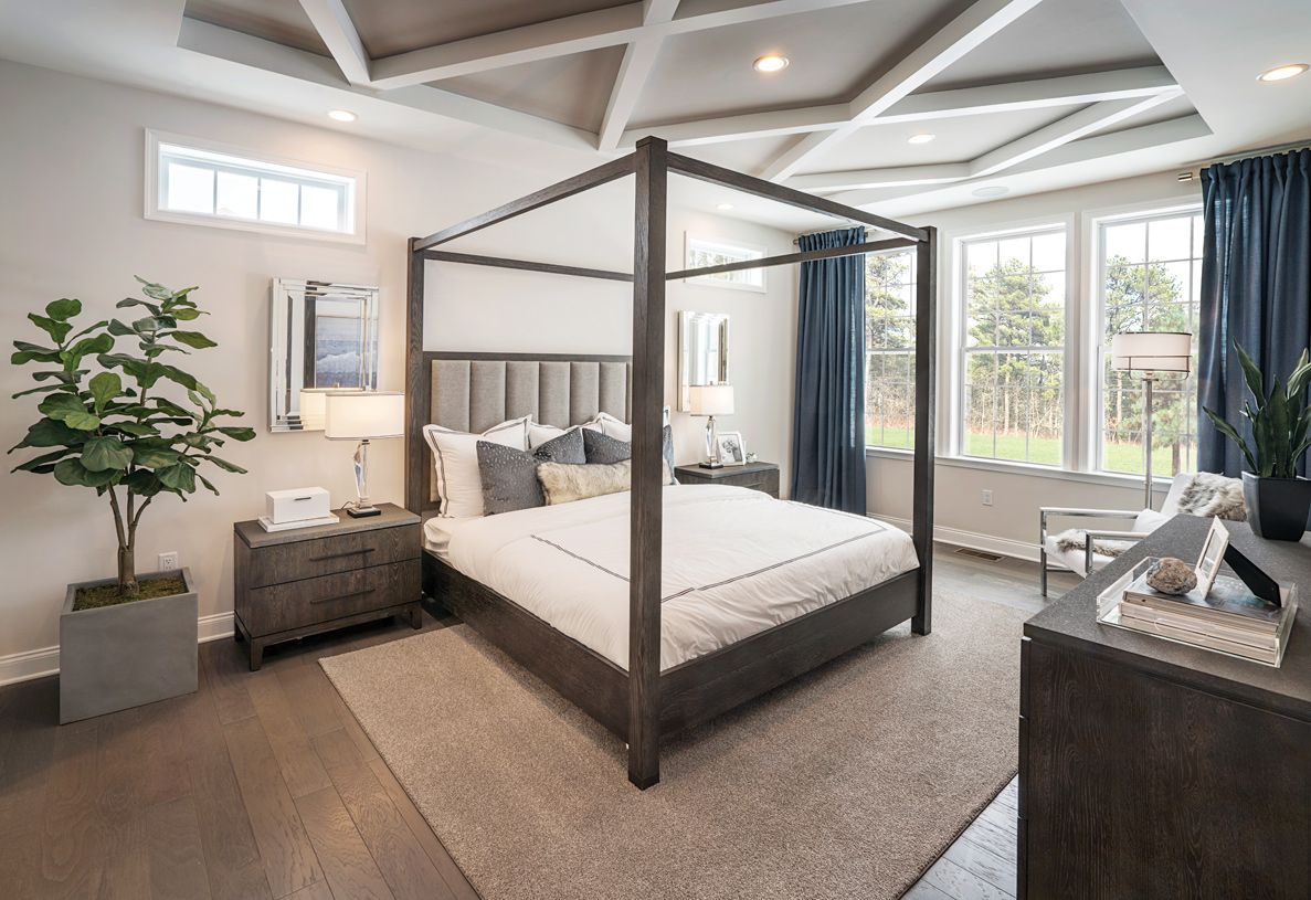 Bedroom featured in the Binghamton By Toll Brothers in Danbury, CT
