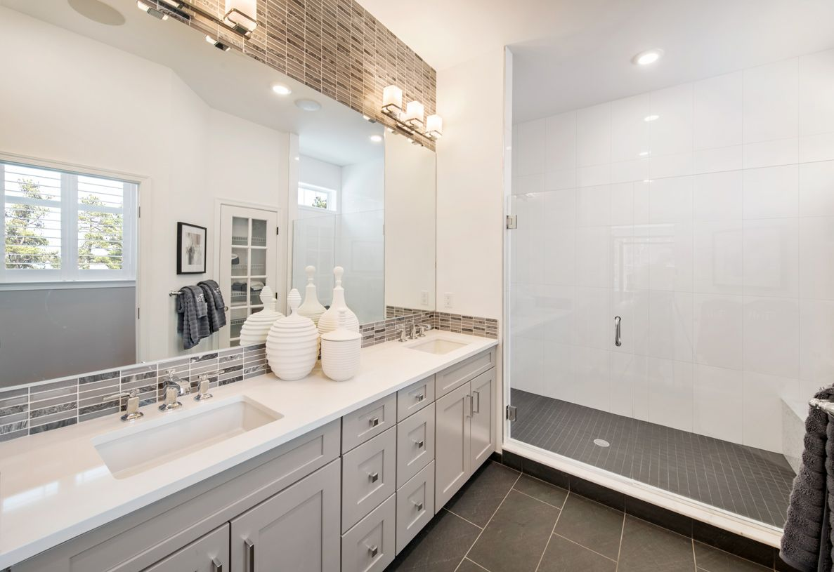 Bathroom featured in the Binghamton By Toll Brothers in Danbury, CT