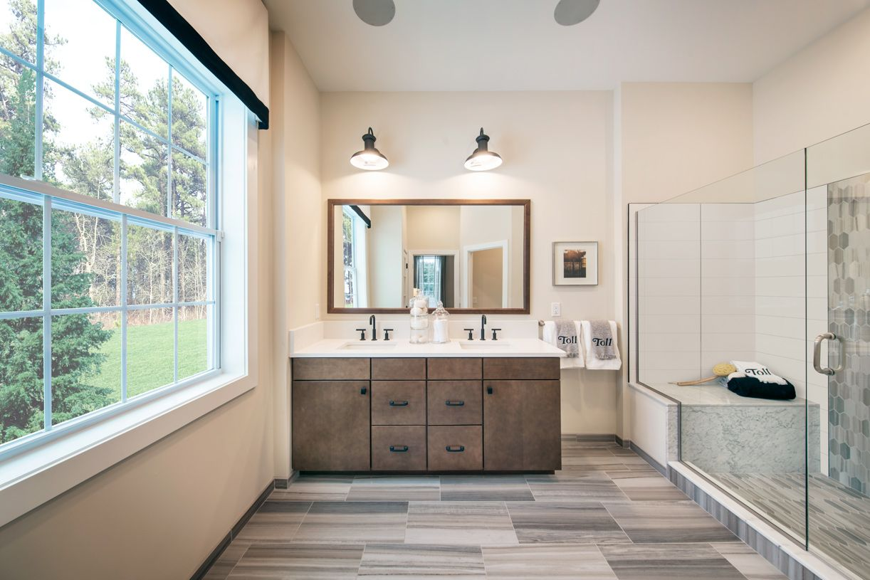Bathroom featured in the Farmington By Toll Brothers in Boston, MA