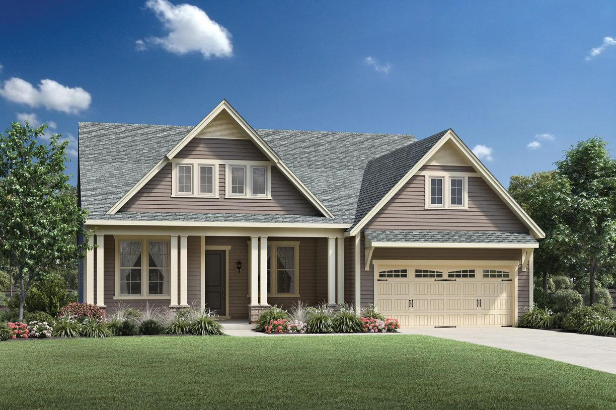 Exterior featured in the Rockford By Toll Brothers in Charlotte, NC