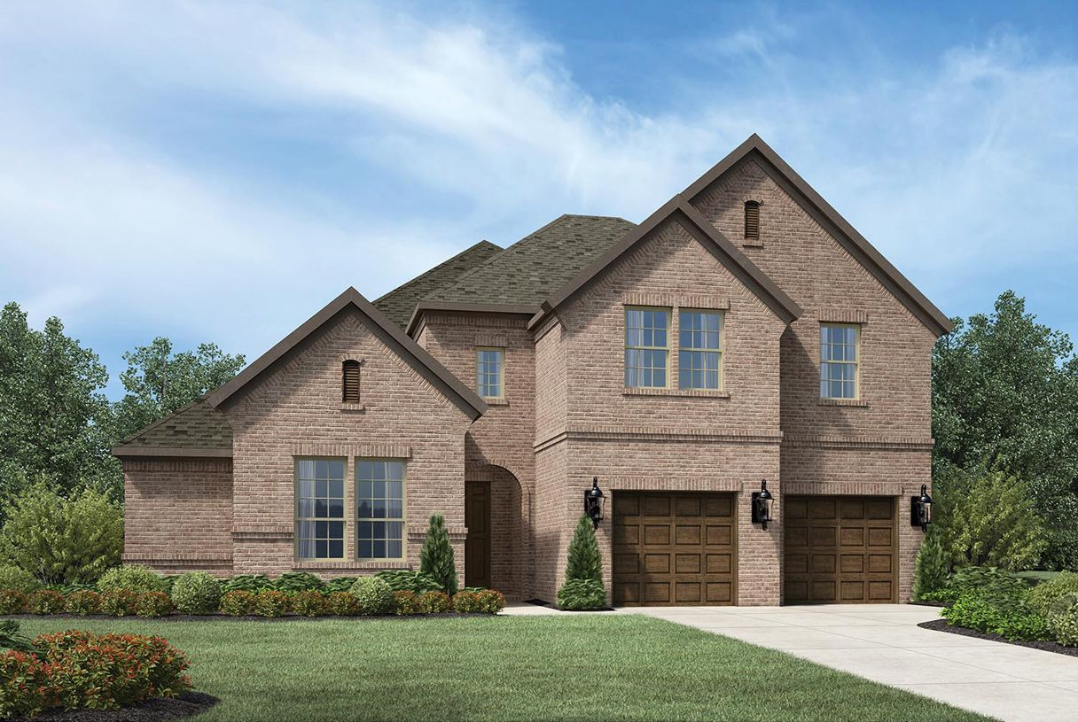 Exterior featured in the Langdon By Toll Brothers in Houston, TX