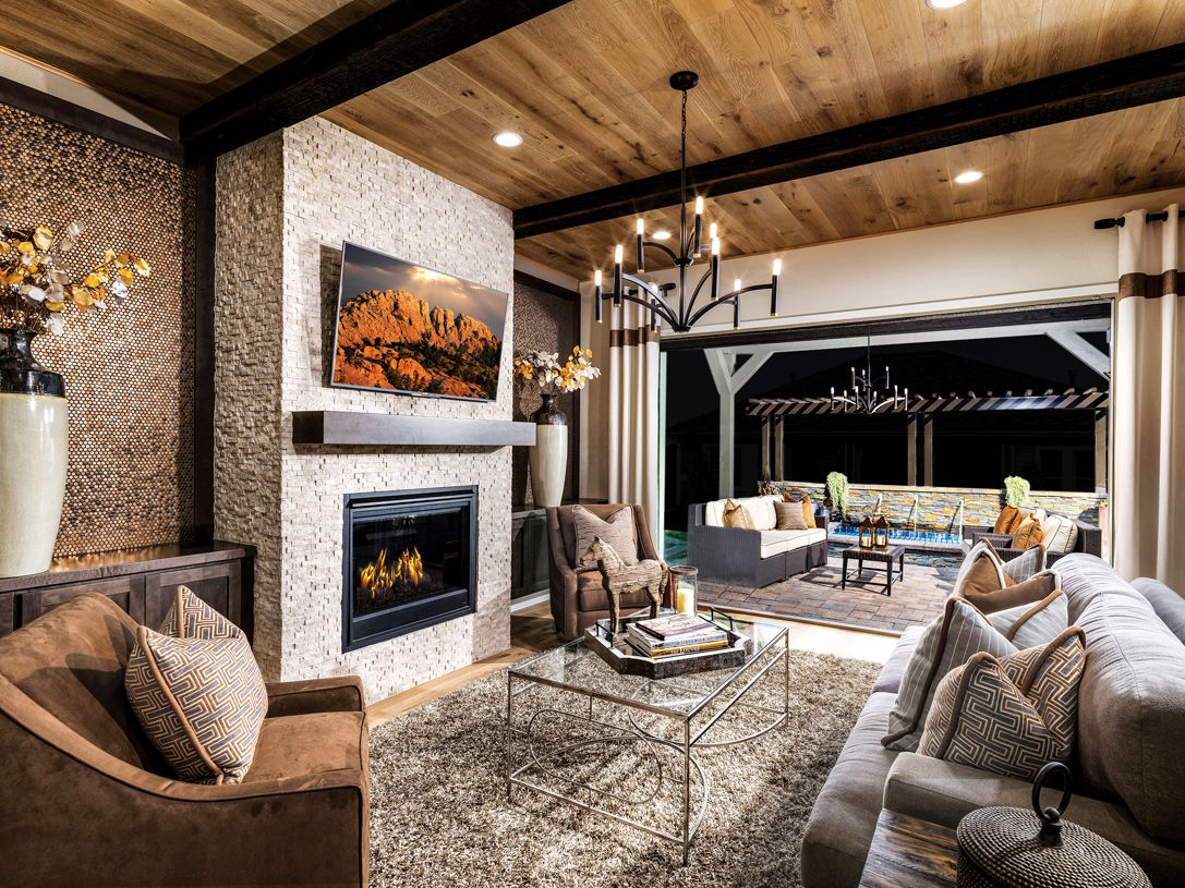 Living Area featured in the Wakefield By Toll Brothers in Fort Collins-Loveland, CO