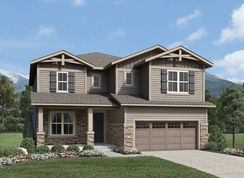 Carmen - North Hill - The Overlook Collection: Thornton, Colorado - Toll Brothers