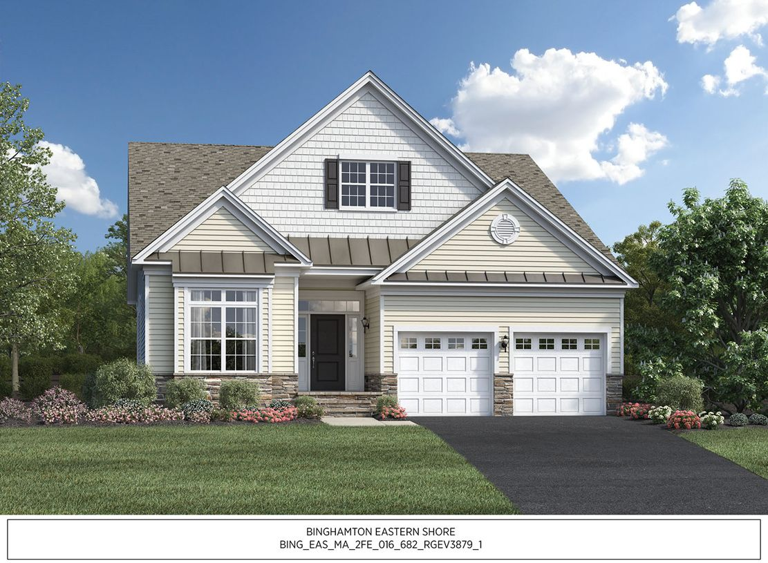 Exterior featured in the Binghamton Eastern Shore By Toll Brothers in Boston, MA