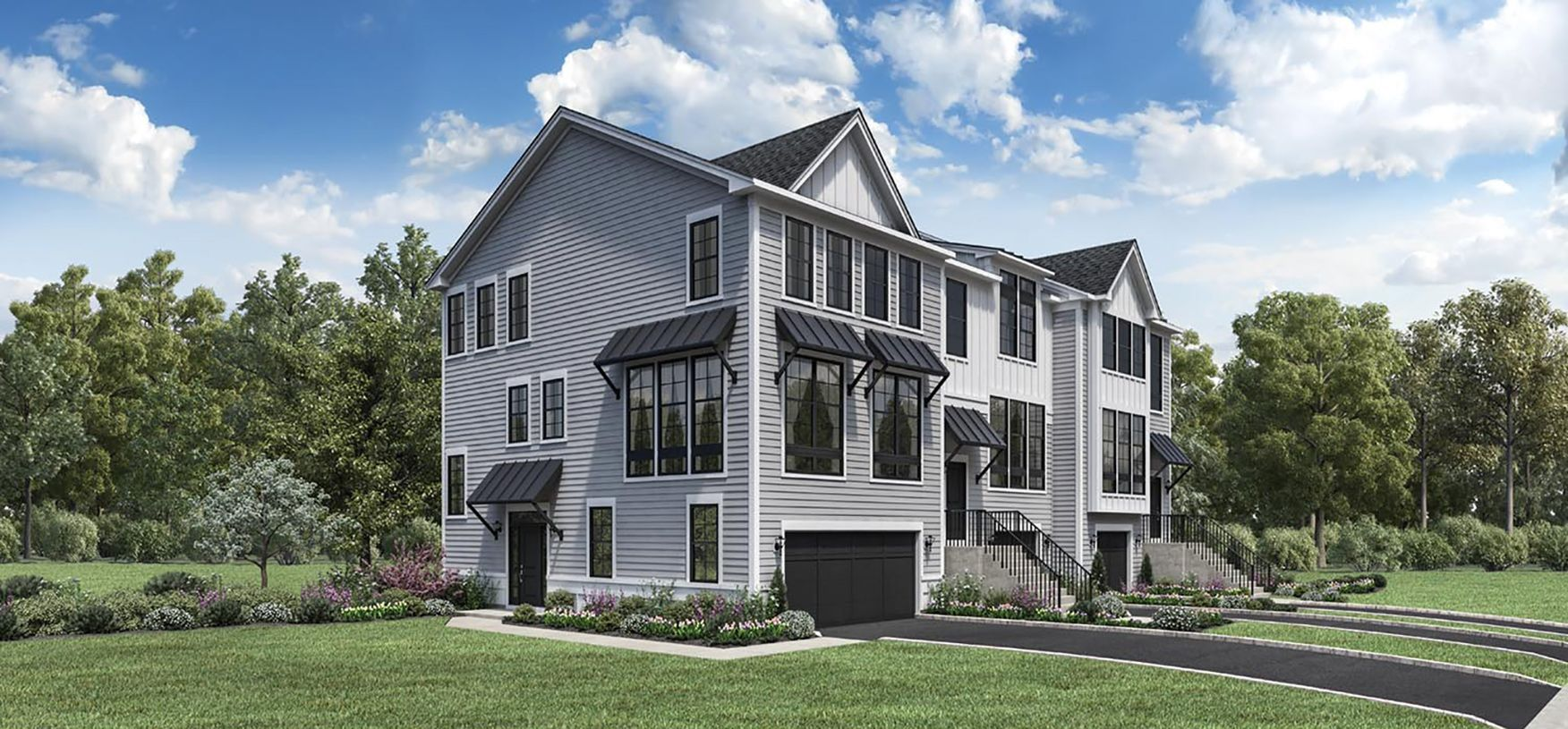 Exterior featured in the Ashbury By Toll Brothers in Danbury, CT