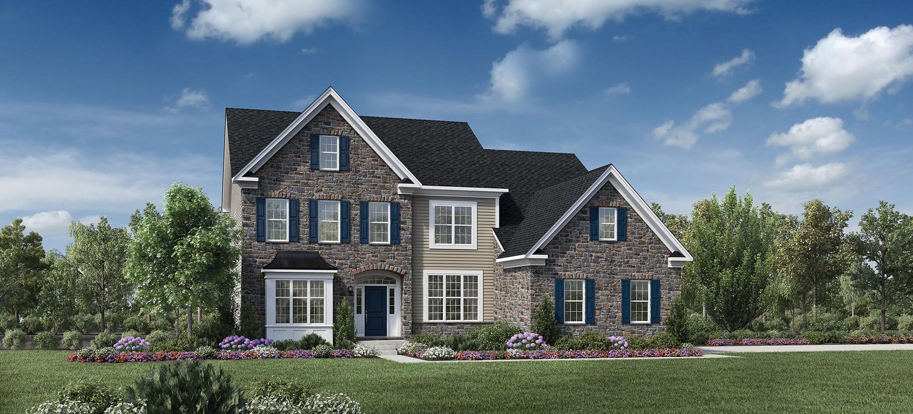 Exterior featured in the Dandridge By Toll Brothers in Detroit, MI