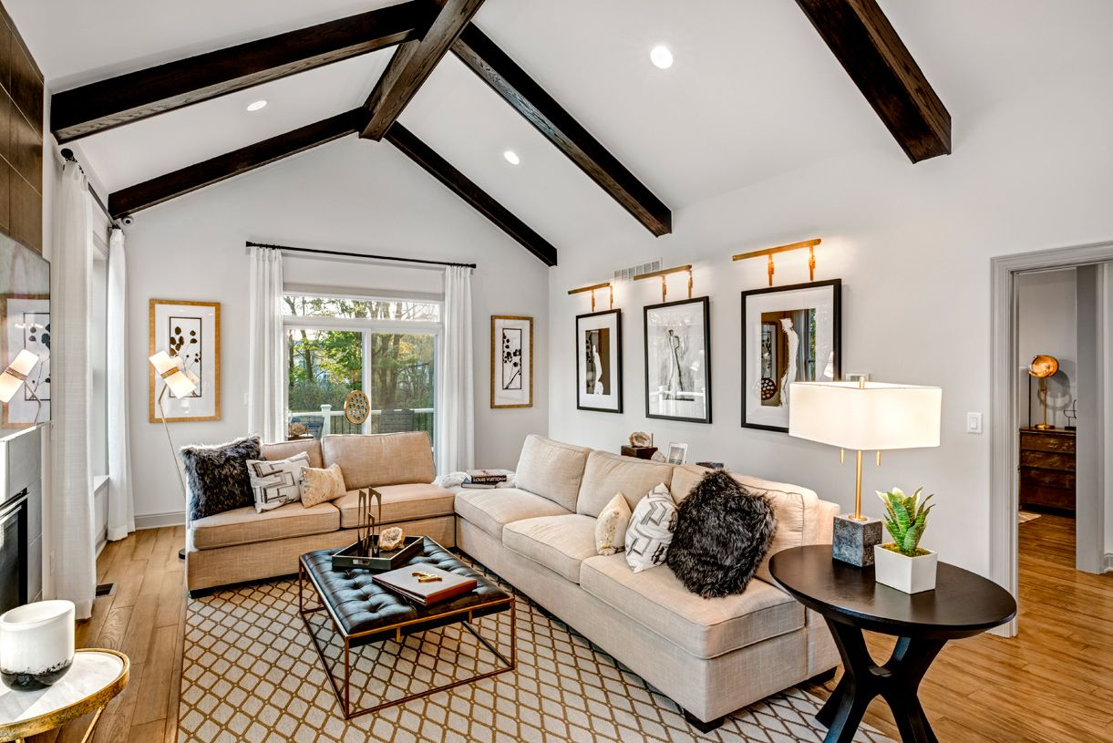 Living Area featured in the Brandeis By Toll Brothers in Ann Arbor, MI