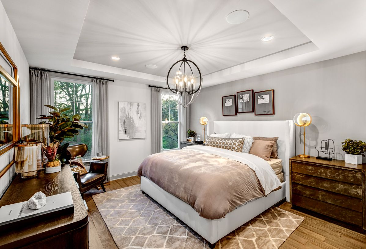 Bedroom featured in the Brandeis By Toll Brothers in Ann Arbor, MI