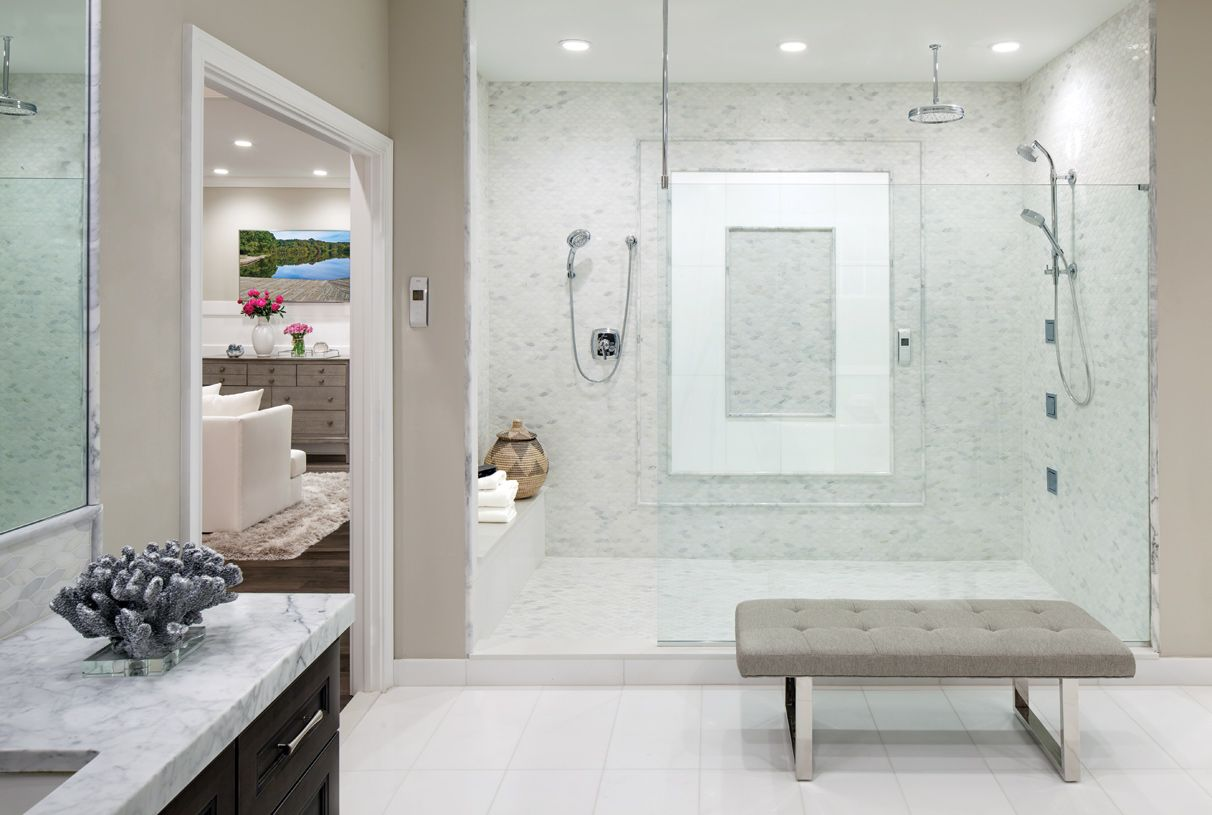 Bathroom featured in the Henley By Toll Brothers in Monmouth County, NJ