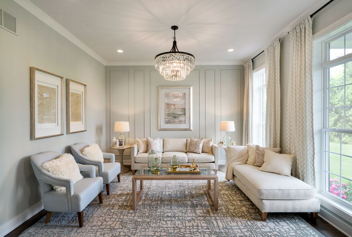Living Area featured in the Windermere By Toll Brothers in Chicago, IL