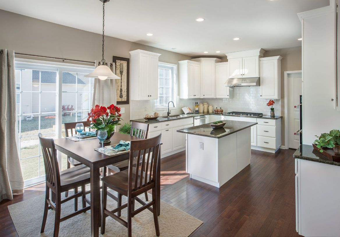 Kitchen featured in the Newhart By Toll Brothers in Chicago, IL