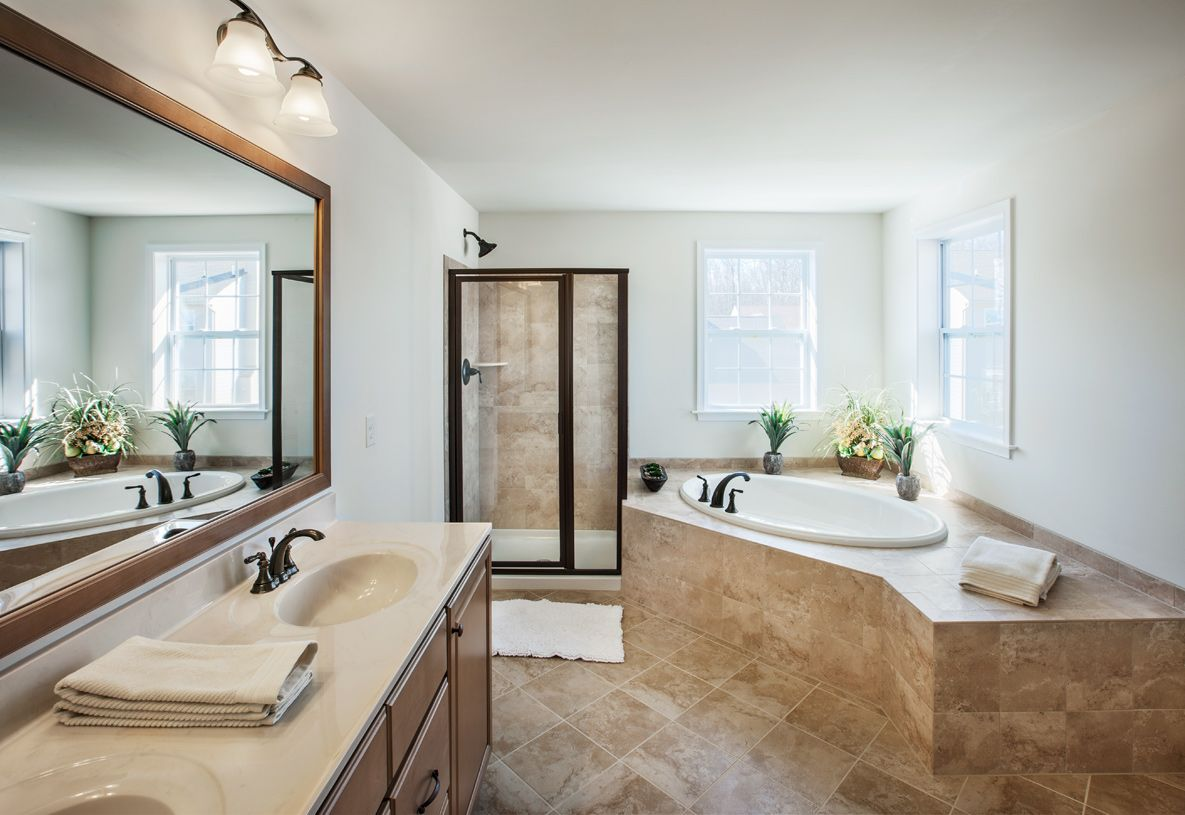 Bathroom featured in the Newhart By Toll Brothers in Chicago, IL