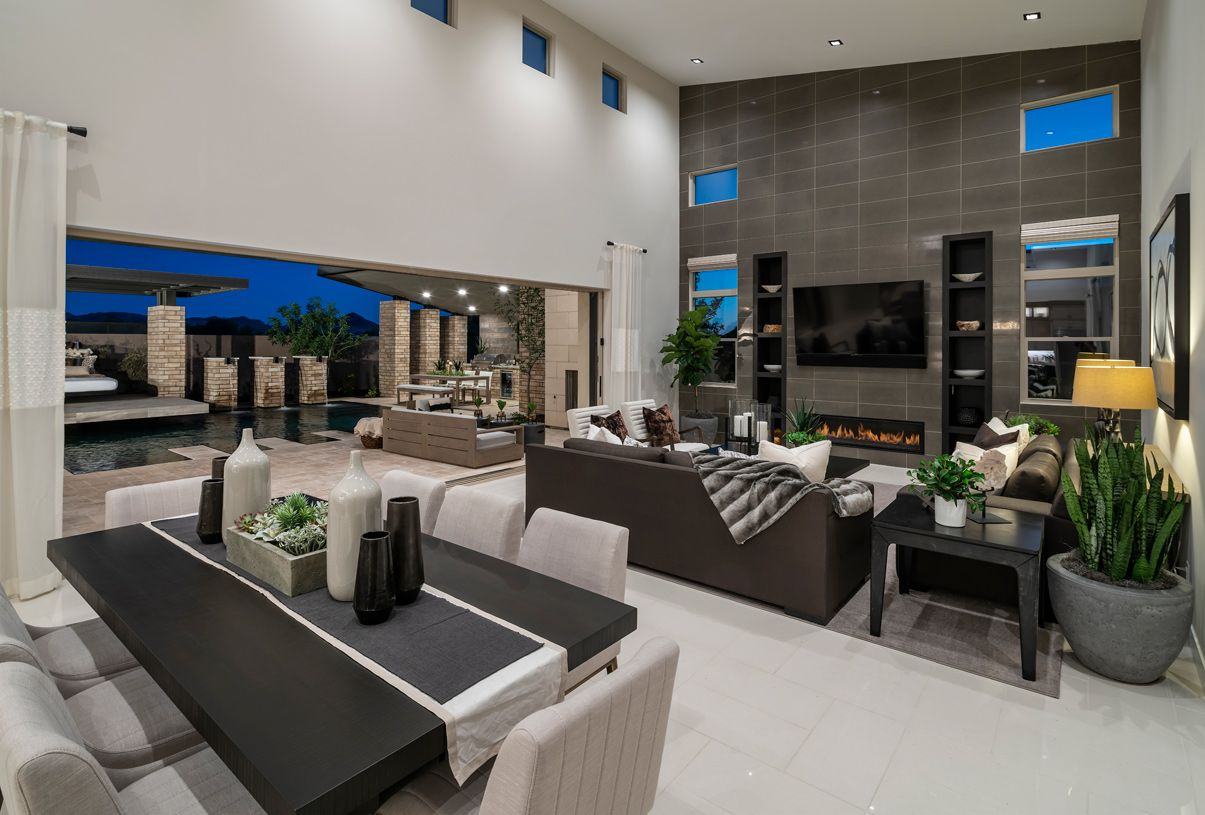 Living Area featured in the Colton By Toll Brothers in Phoenix-Mesa, AZ