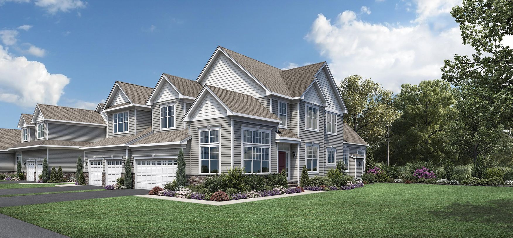 Exterior featured in the Barron By Toll Brothers in Boston, MA
