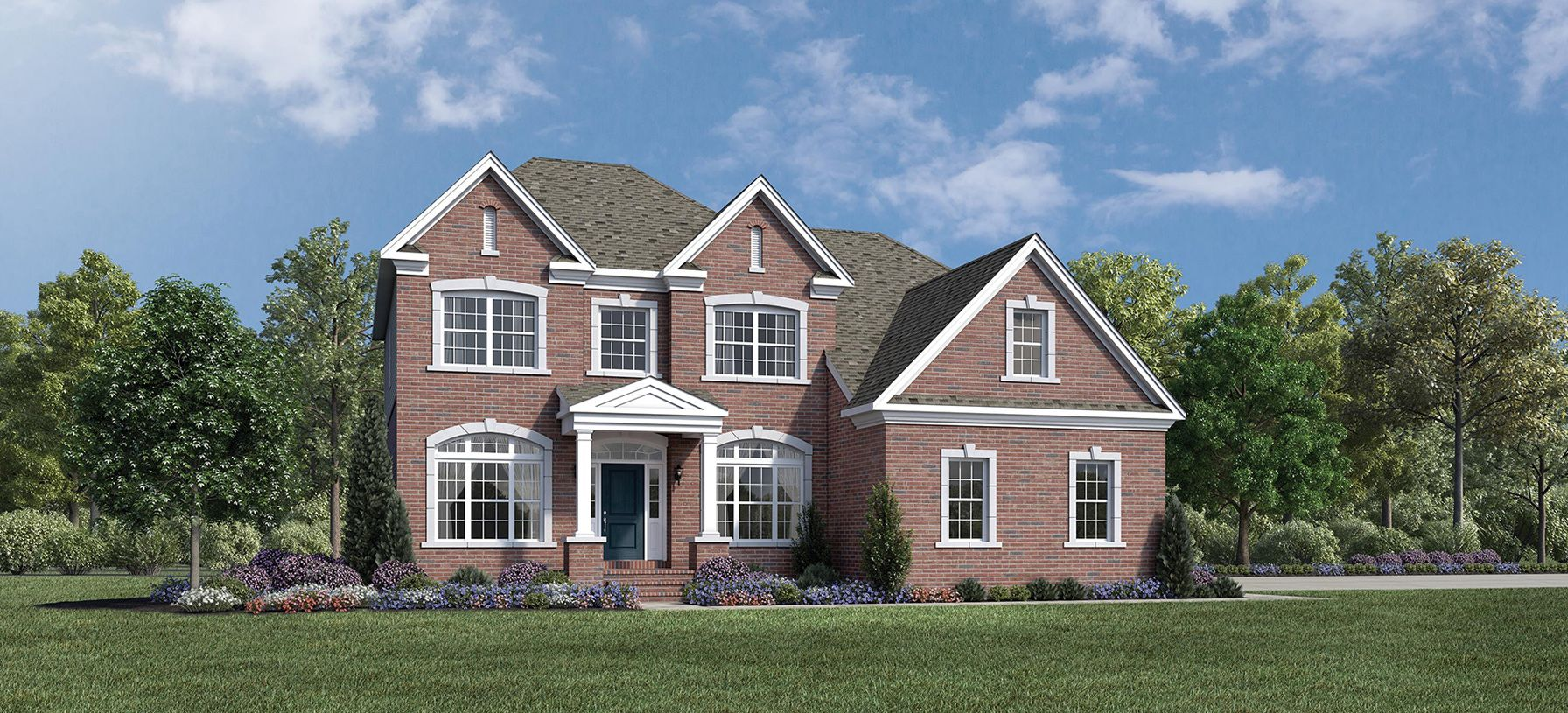 Exterior featured in the Ellsworth II By Toll Brothers in Detroit, MI