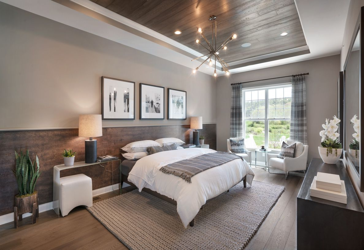 Bedroom featured in the Barron By Toll Brothers in Boston, MA