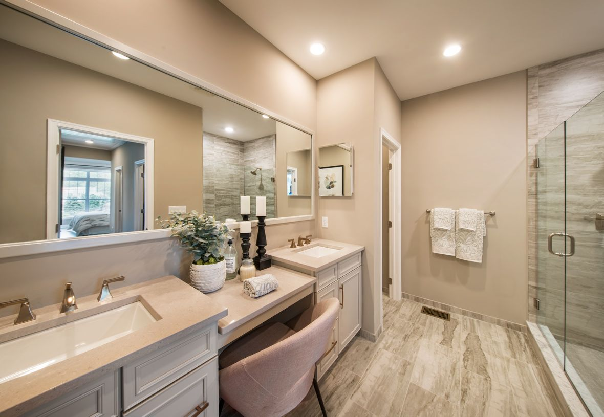 Bathroom featured in the Kington By Toll Brothers in Boston, MA