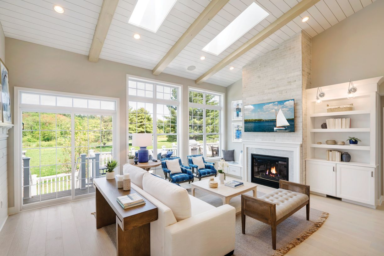 Living Area featured in the Vaughn Manor By Toll Brothers in Boston, MA