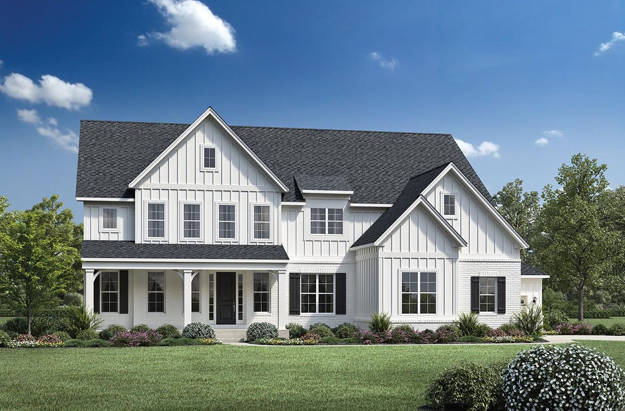 Exterior featured in the Hollister By Toll Brothers in Raleigh-Durham-Chapel Hill, NC