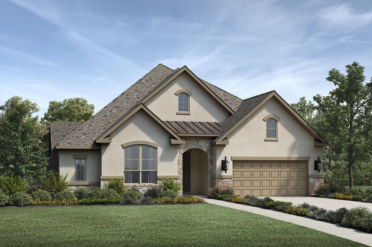 Exterior featured in the Turner By Toll Brothers in Houston, TX