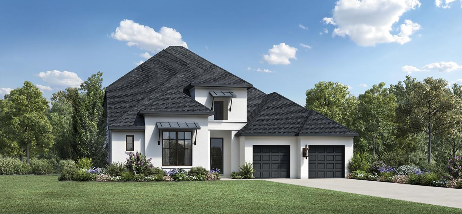 Exterior featured in the Warner By Toll Brothers in Houston, TX