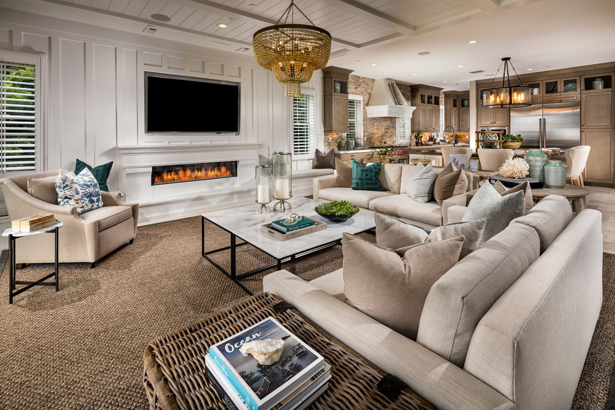 Living Area featured in the Serrania By Toll Brothers in Los Angeles, CA
