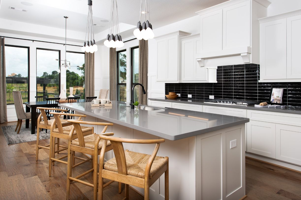 Kitchen featured in the Langdon By Toll Brothers in Houston, TX