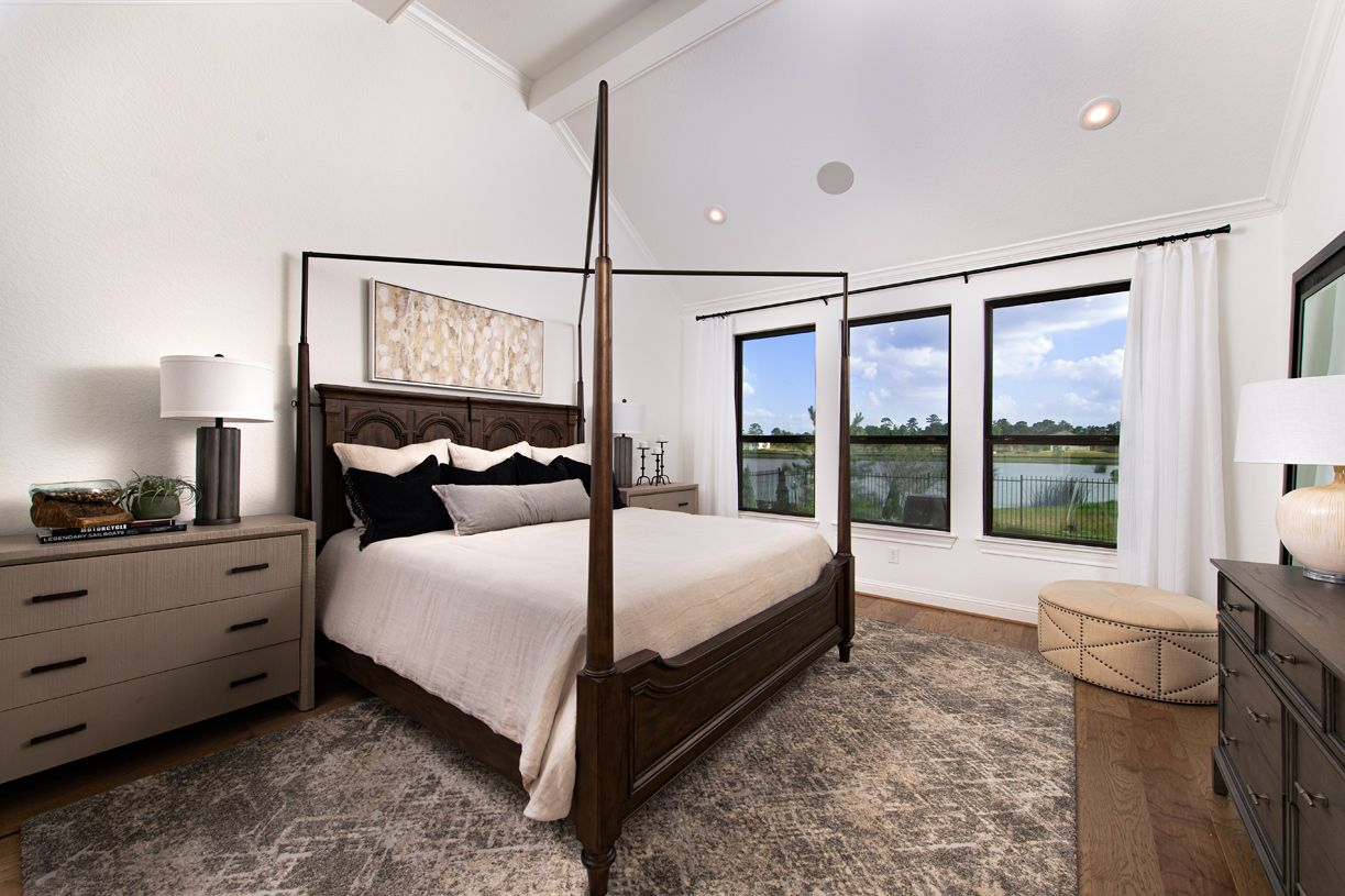 Bedroom featured in the Langdon By Toll Brothers in Houston, TX