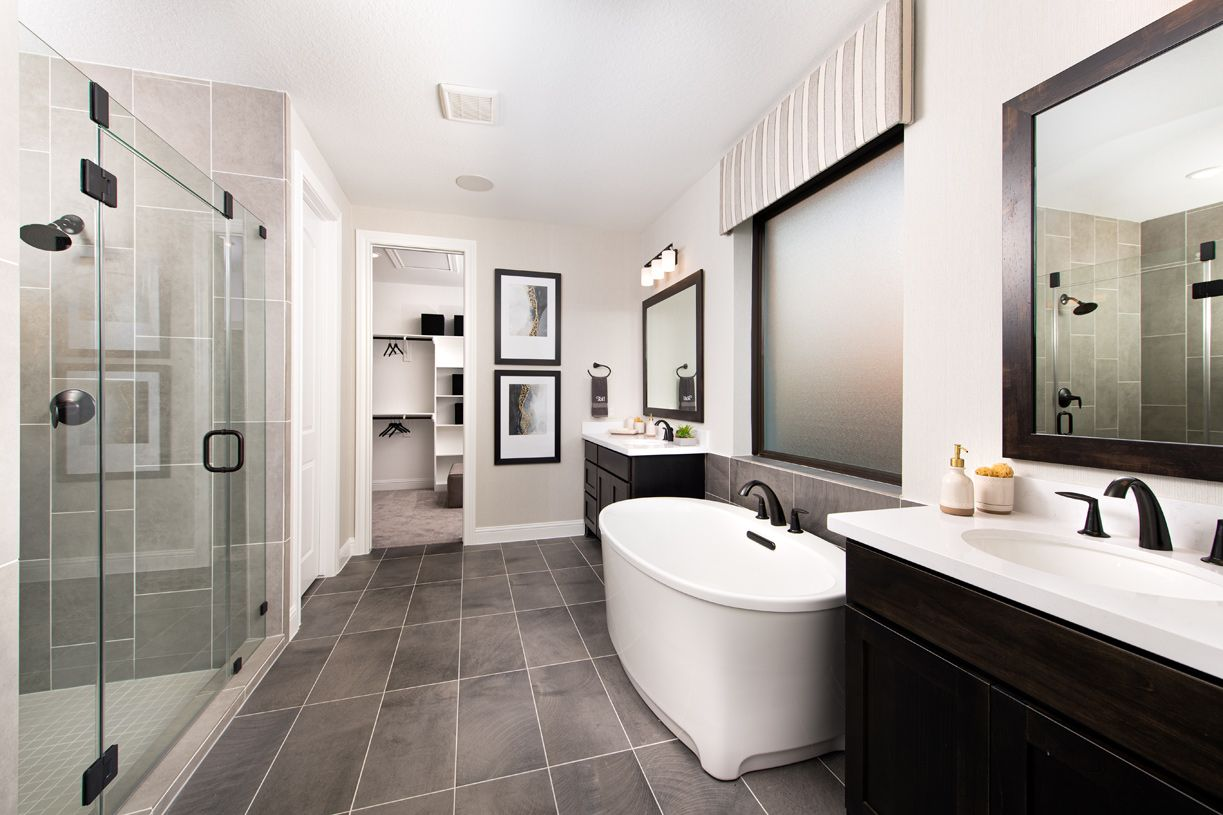 Bathroom featured in the Langdon By Toll Brothers in Houston, TX
