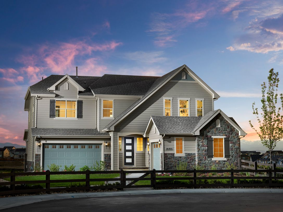 Exterior featured in the Hayden By Toll Brothers in Denver, CO