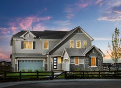 Hayden - North Hill - The Point Collection: Thornton, Colorado - Toll Brothers