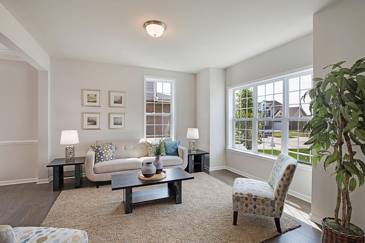 Living Area featured in the Winnetka By Toll Brothers in Chicago, IL