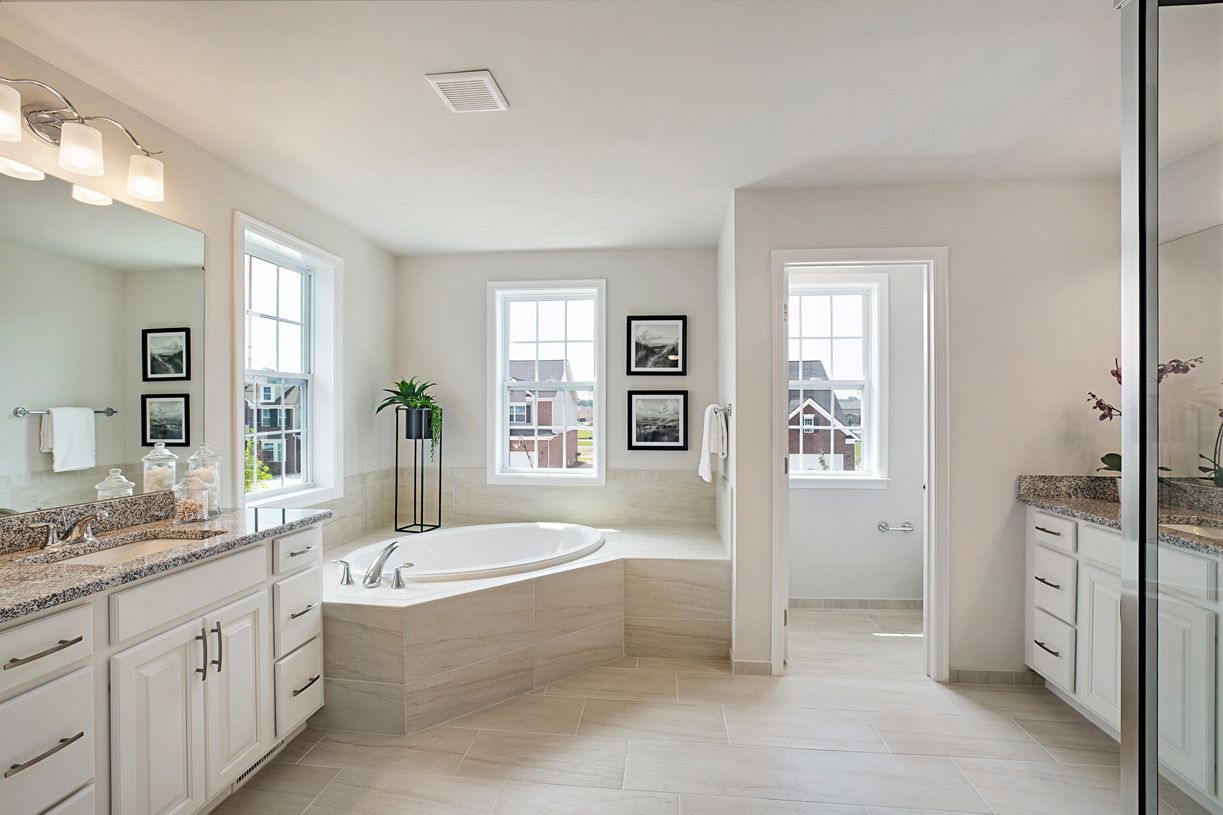 Bathroom featured in the Winnetka By Toll Brothers in Chicago, IL
