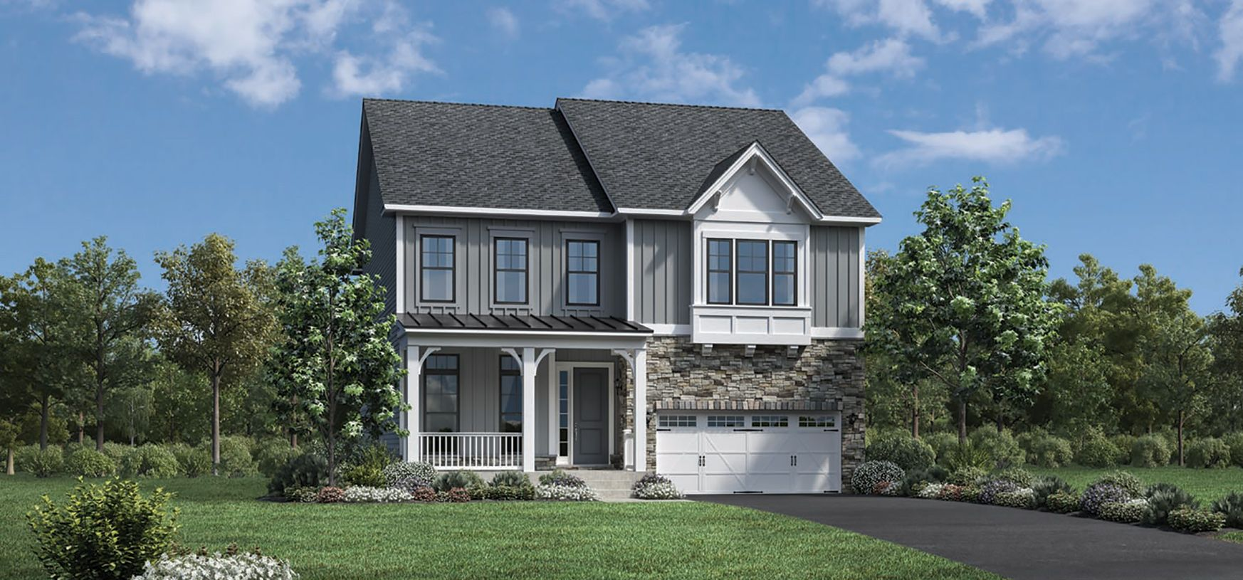 Exterior featured in the Rockleigh By Toll Brothers in Bergen County, NJ