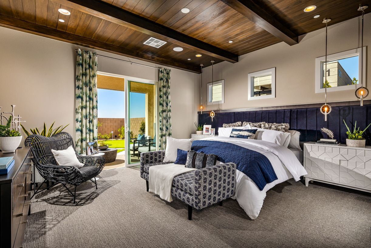 Bedroom featured in the Edgewood By Toll Brothers in Las Vegas, NV