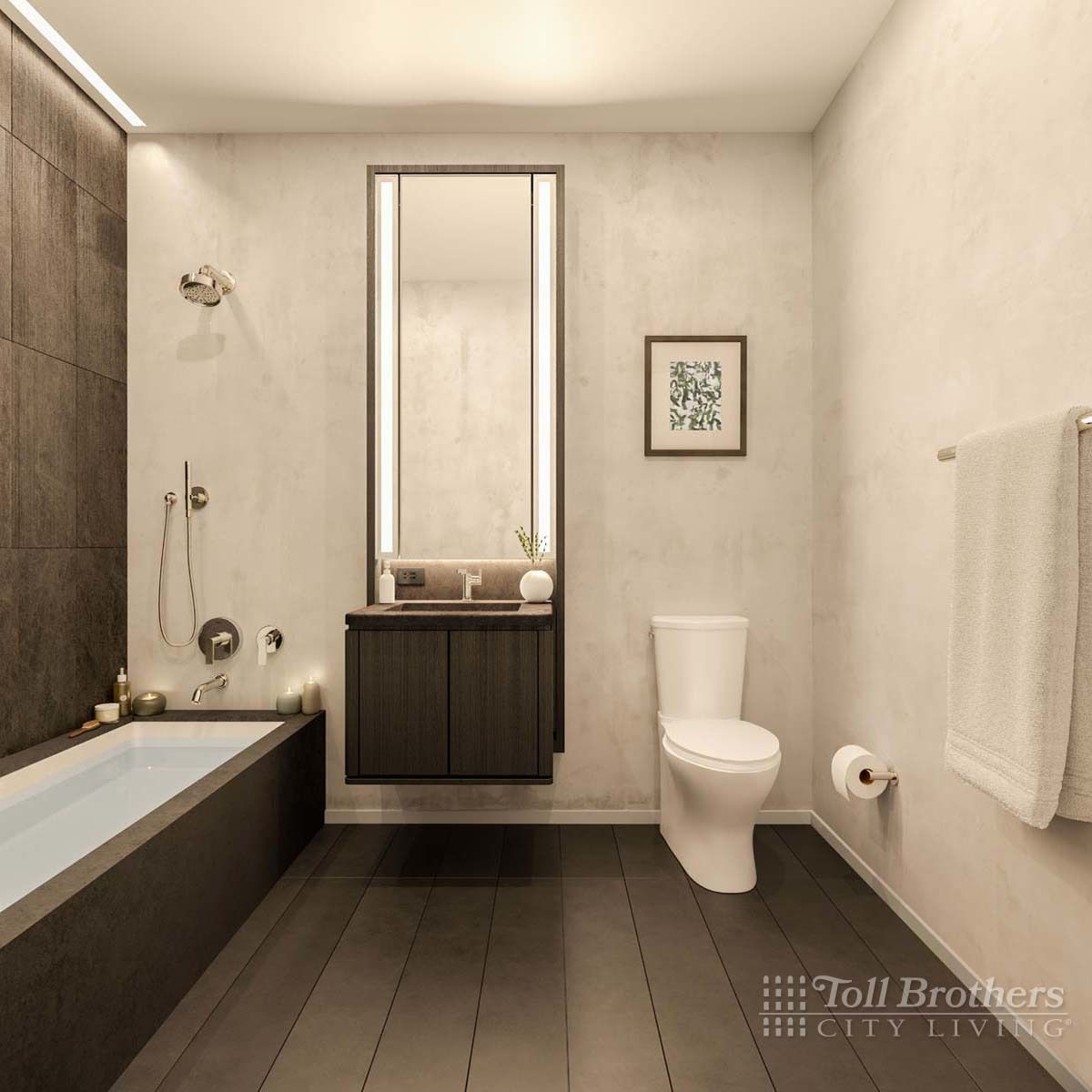 Bathroom featured in the S12B By Toll Brothers in New York, NY