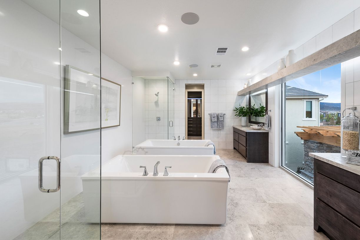 Bathroom featured in the Portillo By Toll Brothers in Reno, NV