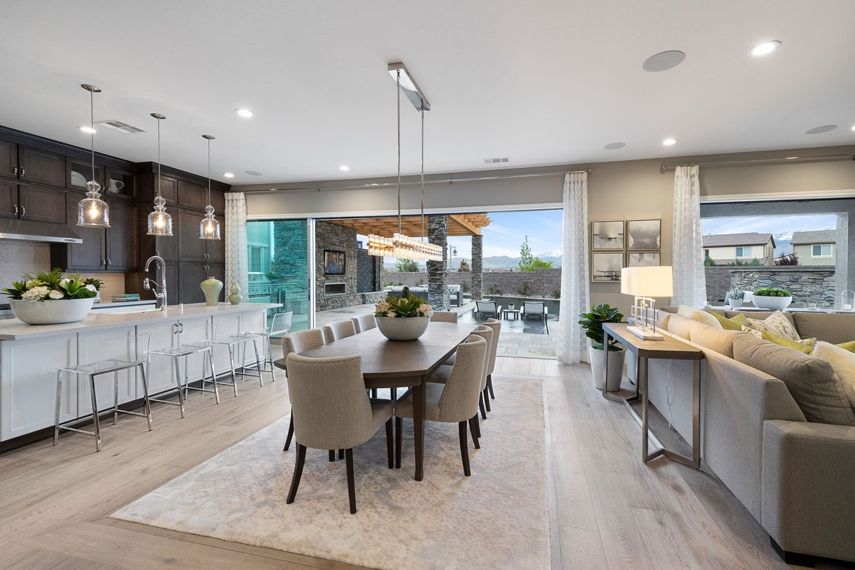Living Area featured in the Portillo By Toll Brothers in Reno, NV