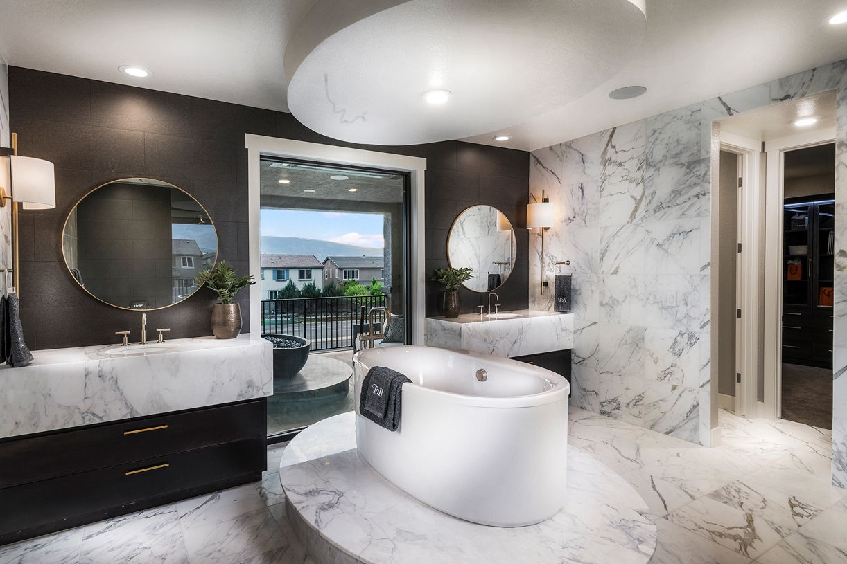Bathroom featured in the Timberline By Toll Brothers in Reno, NV