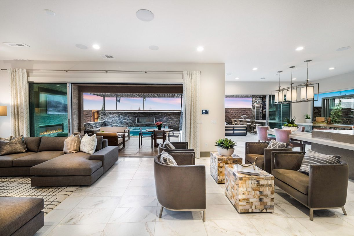 Living Area featured in the Saguaro By Toll Brothers in Reno, NV