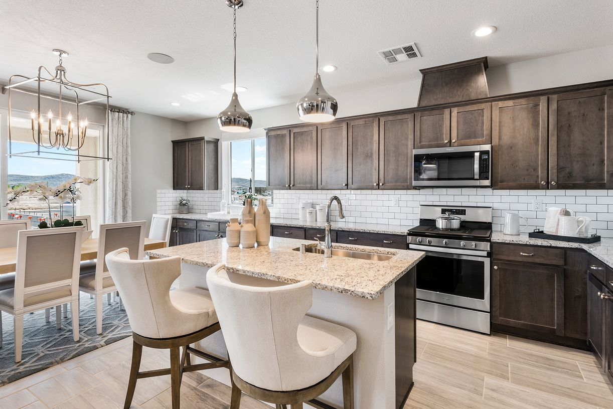 Kitchen featured in the Almeria By Toll Brothers in Reno, NV