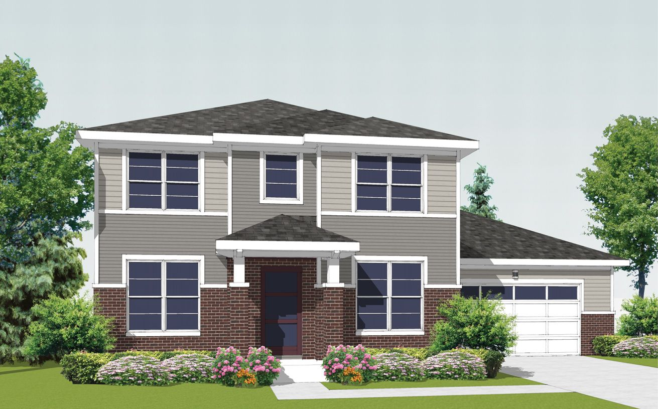 Exterior featured in the Parker By Toll Brothers in Chicago, IL
