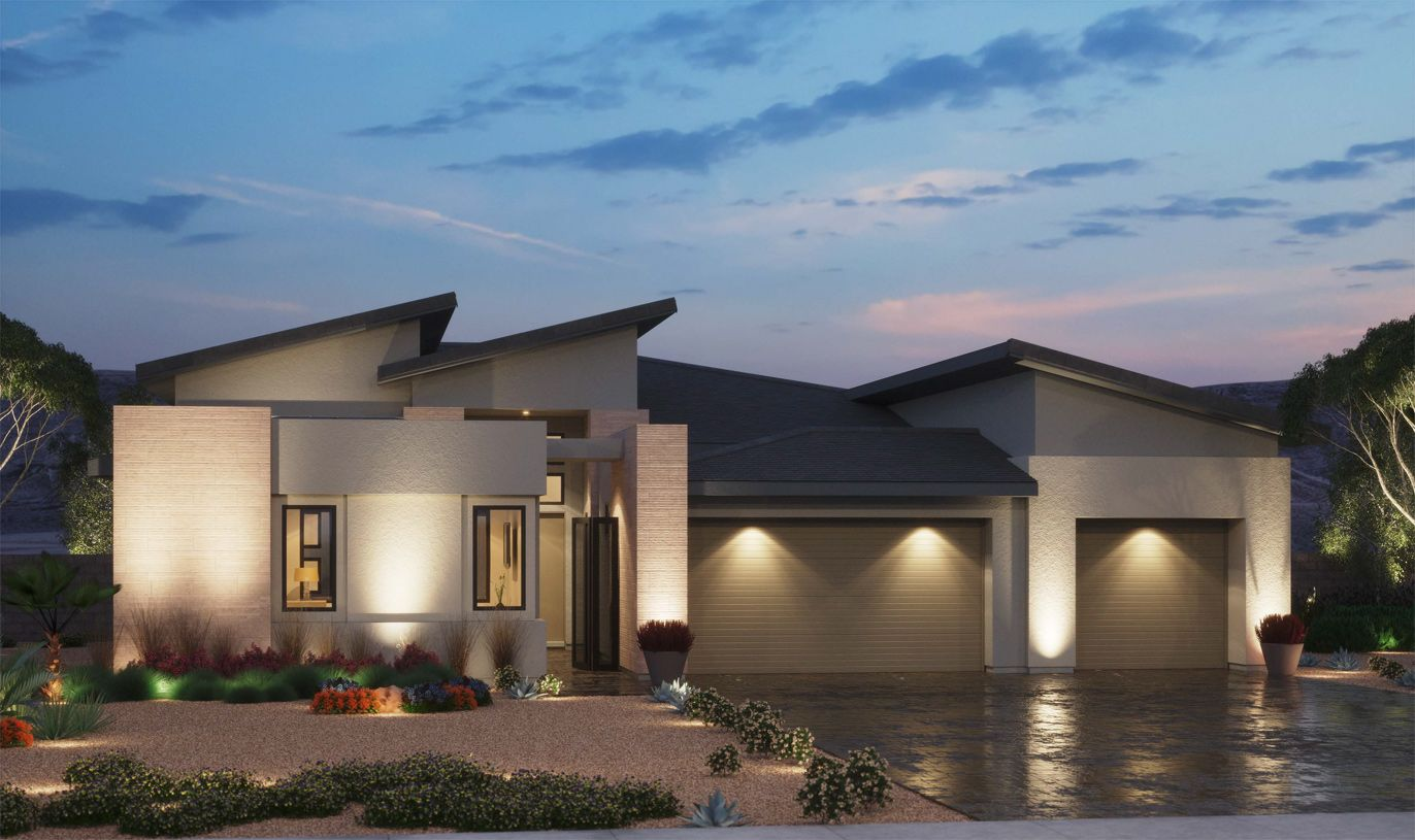 Exterior featured in the Bridge By Toll Brothers in Las Vegas, NV