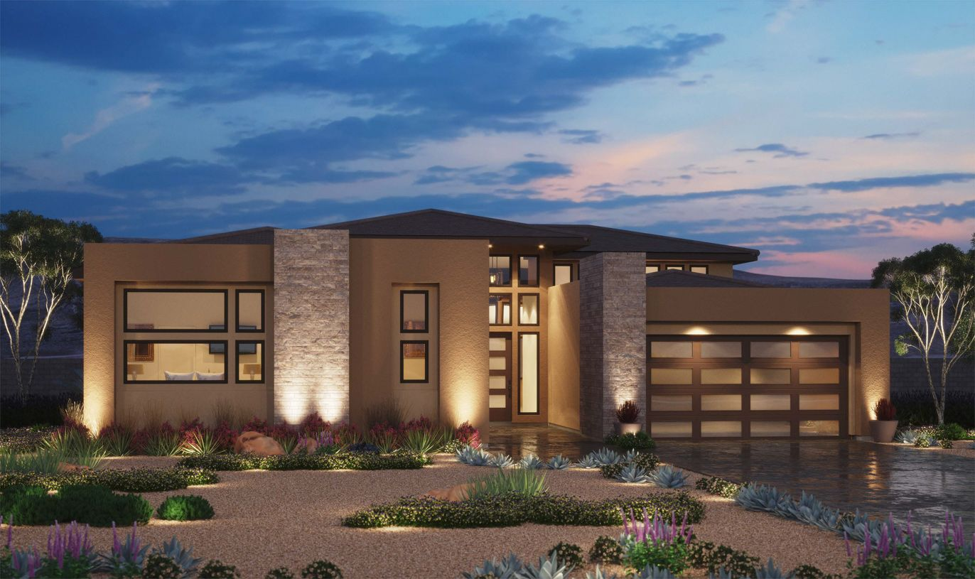 Exterior featured in the Sandstone By Toll Brothers in Las Vegas, NV